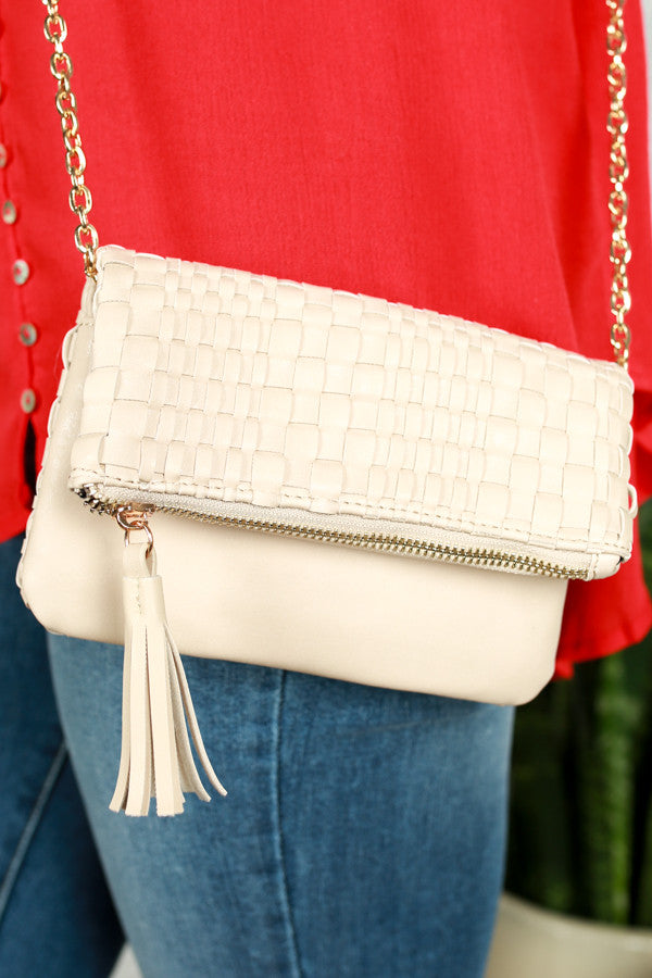 The Final Touch Clutch in Birch