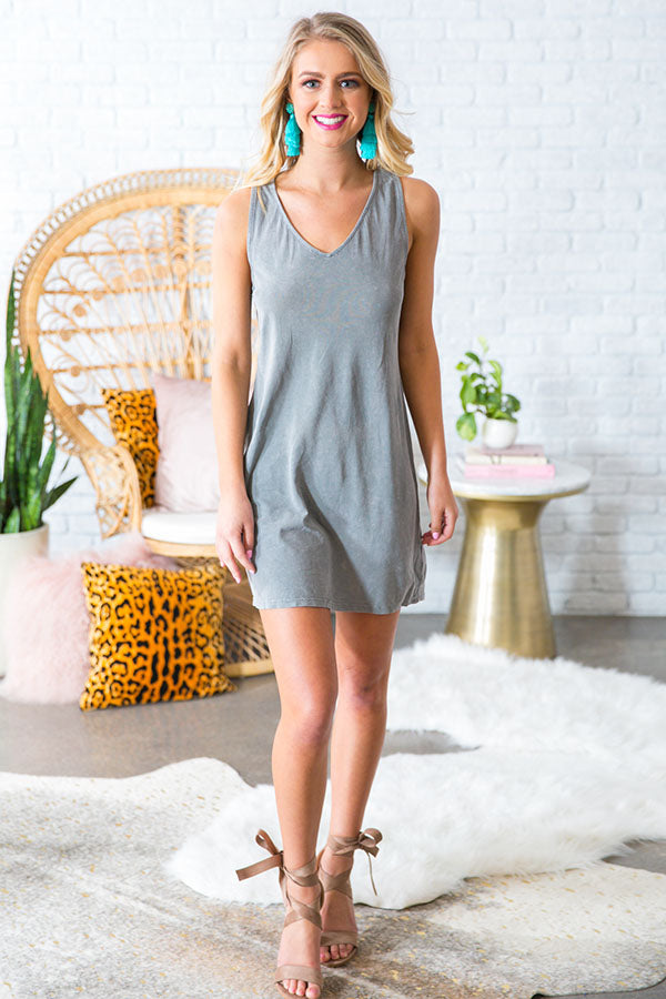 Cut It Out Shift Dress
