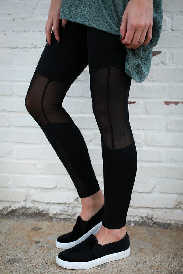 Latte Run Legging