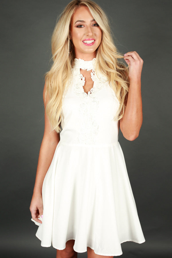 Sweeter In The Spotlight Fit and Flare Dress