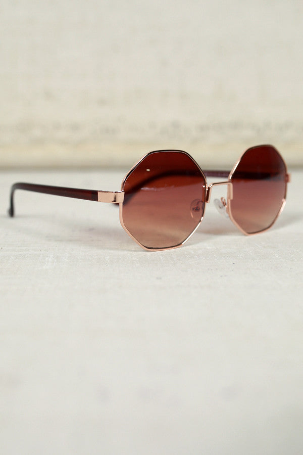 In Focus Sunglasses in Brown