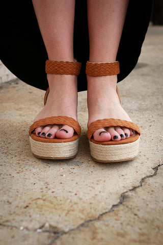You're Grounded Platform Sandal