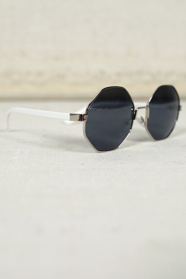 In Focus Sunglasses in White