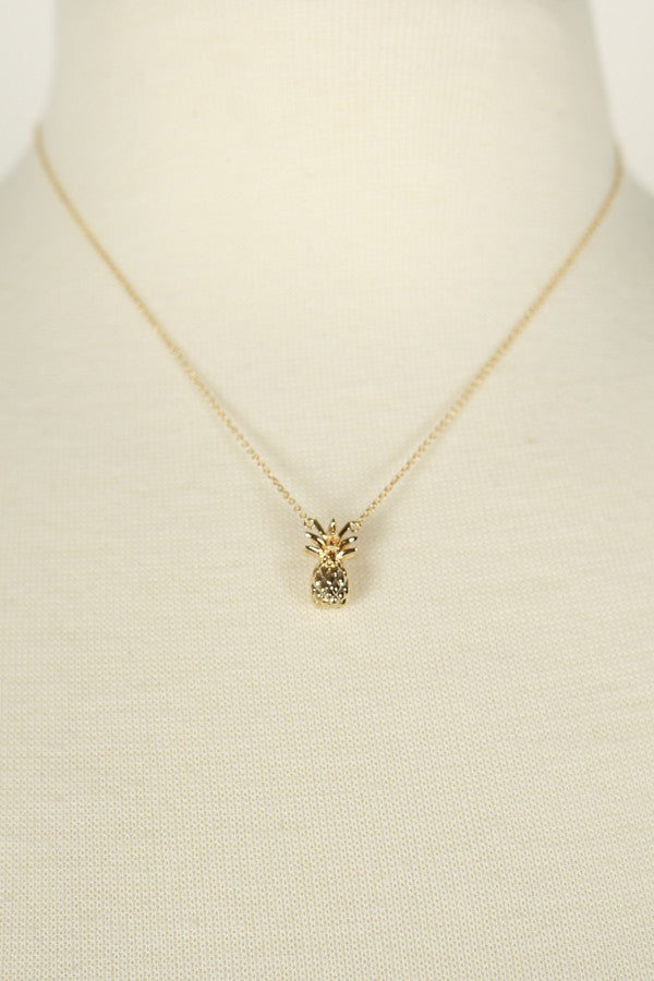 Pineapple Pretty Necklace
