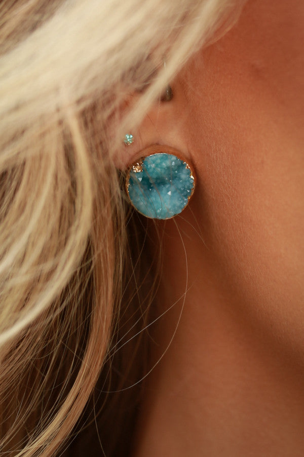 Spot On Sparkle Druzy Earrings