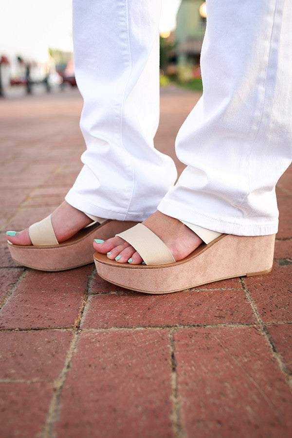 Ollie Burnished Wedge