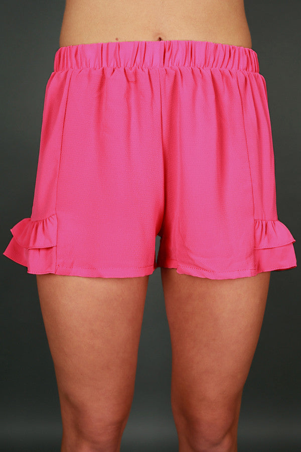 Know It All Shorts in Pink