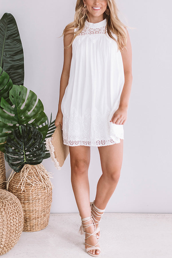 Eyelet Dream Shift Dress