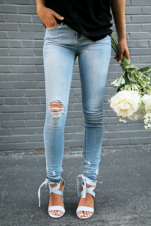 My Stomping Ground Distressed Skinny