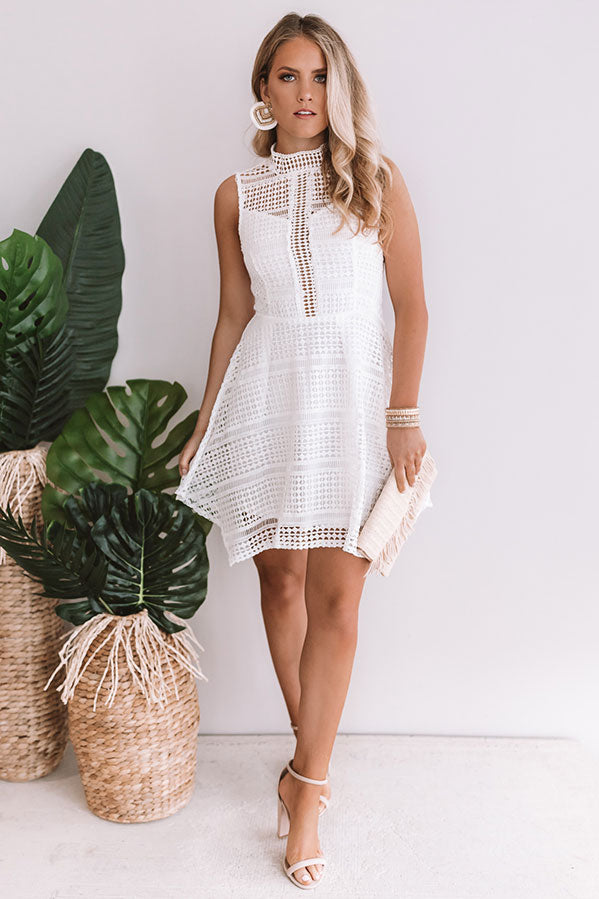 Knock Em Dead Crochet Dress