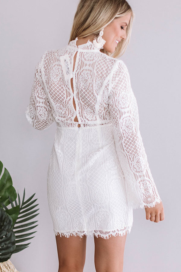 Heavenly Lace Dress