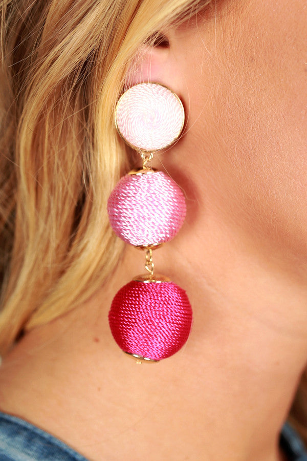 Party In Palm Beach Earrings