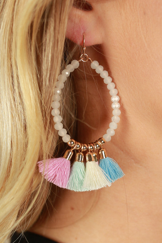 Margarita Vacay Earrings in Violet