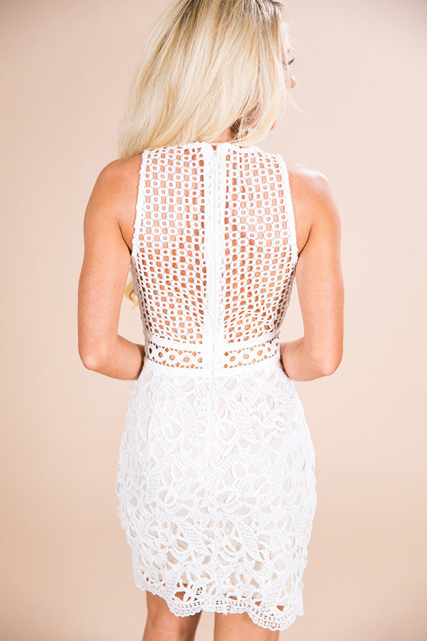 Showered With Love Crochet Dress