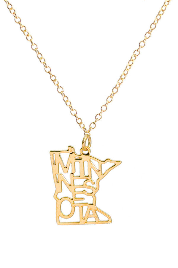 Kris Nations State Pride Necklace Minnesota
