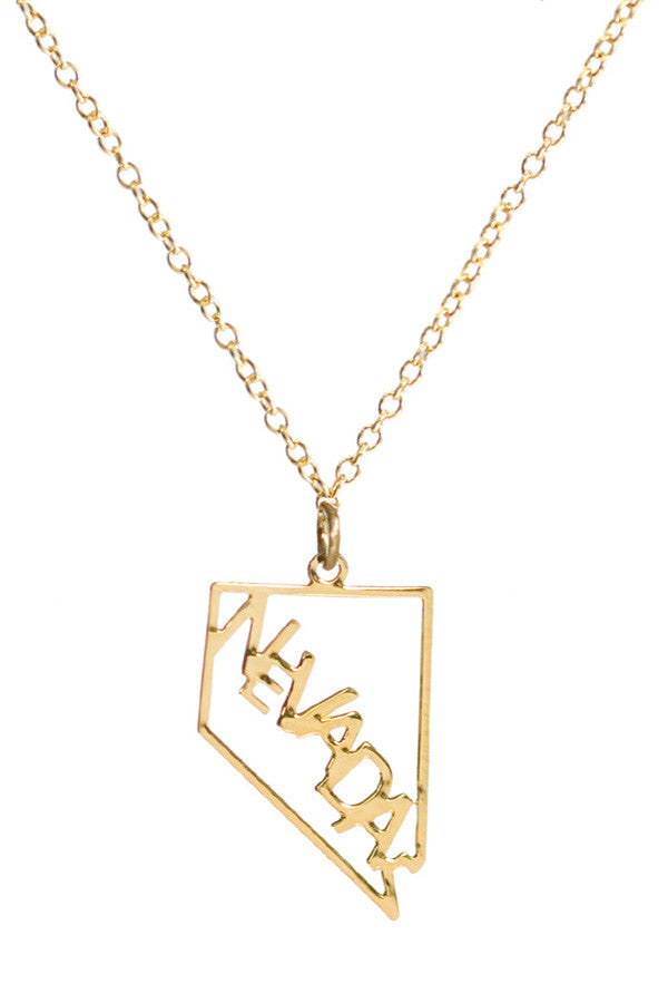 Kris Nations State Pride Necklace Nevada