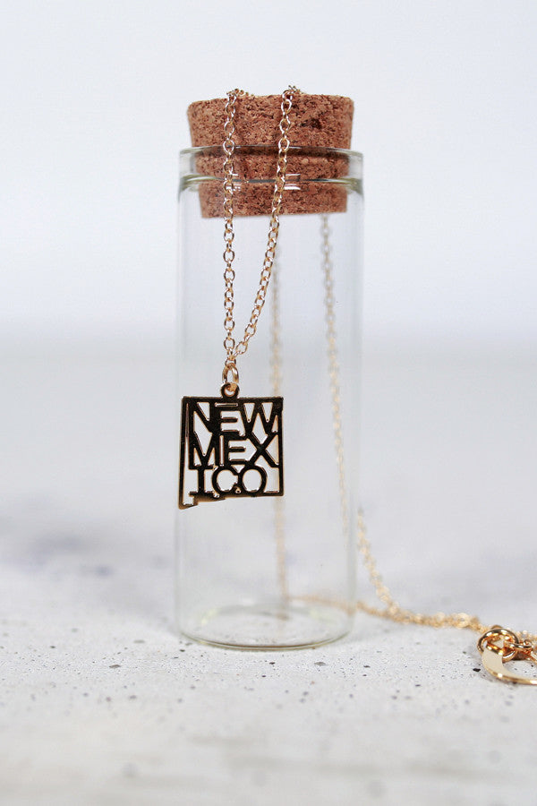 Kris Nations State Pride Necklace New Mexico