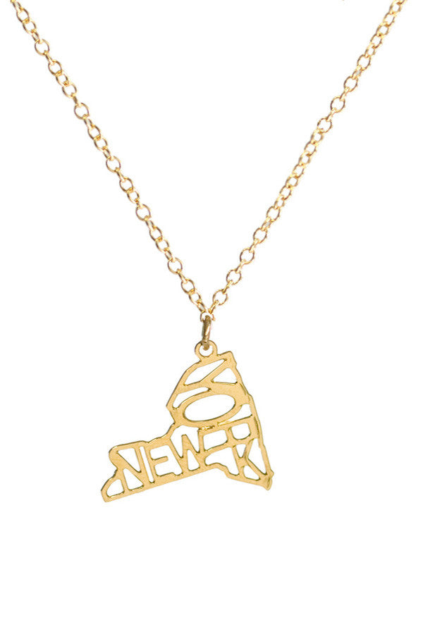 Kris Nations State Pride Necklace New York