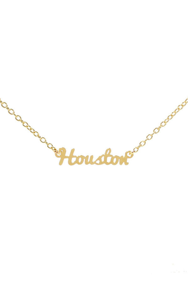 Kris Nations City Pride Series Necklace Houston