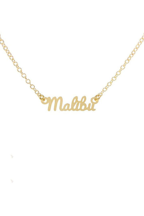 Kris Nations City Pride Series Necklace Malibu