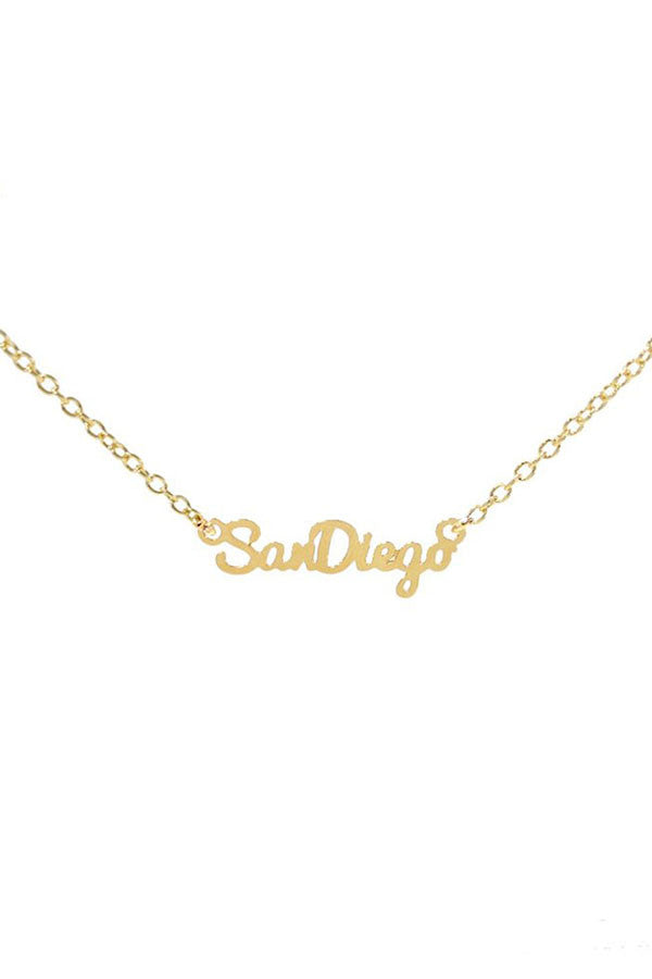 Kris Nations City Pride Series Necklace San Diego