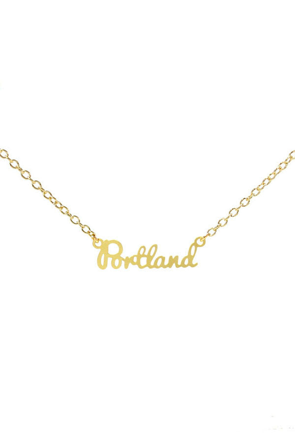 Kris Nations City Pride Series Necklace Portland