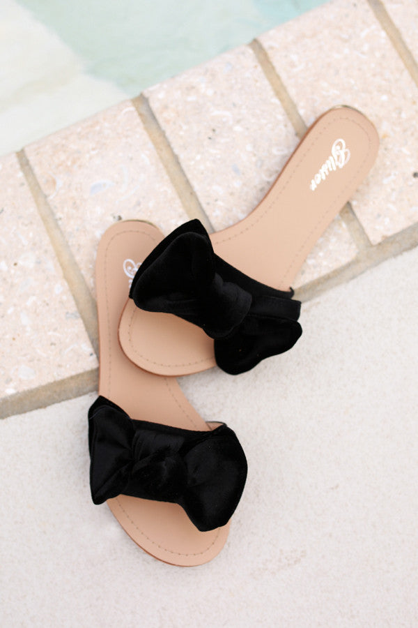 Love Ever After Sandal in Black