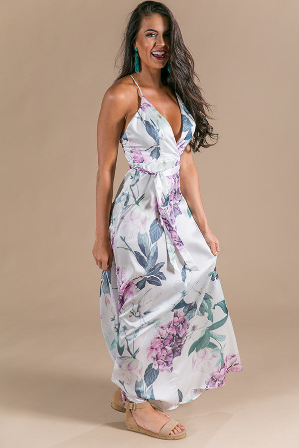 Sweet Enchantment Floral Maxi