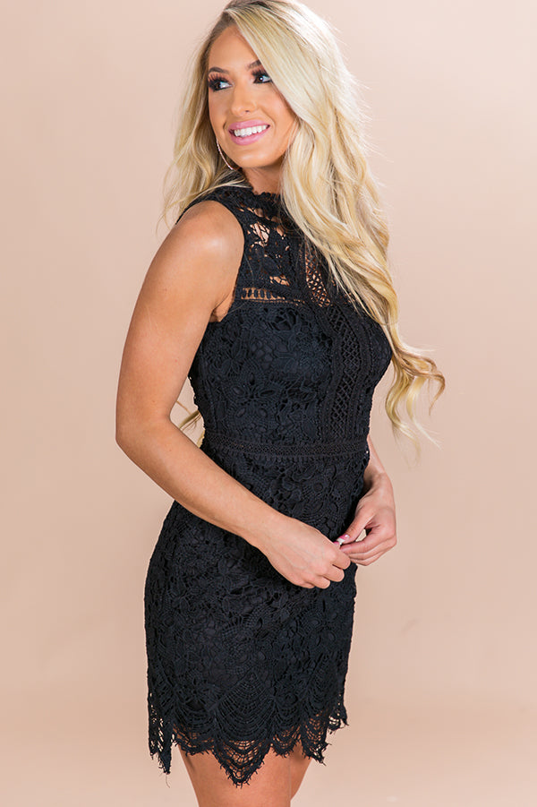 Date Night Deluxe Crochet Dress