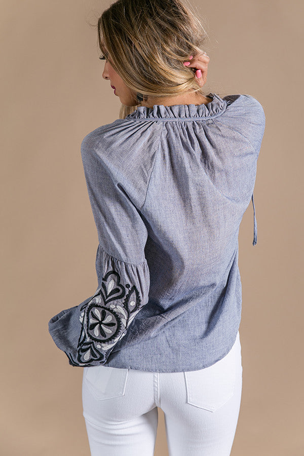 Sweetest Memories Embroidered Top