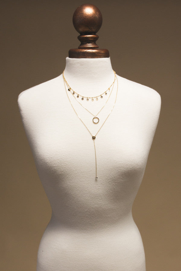 Sweet Illusions Layered Necklace