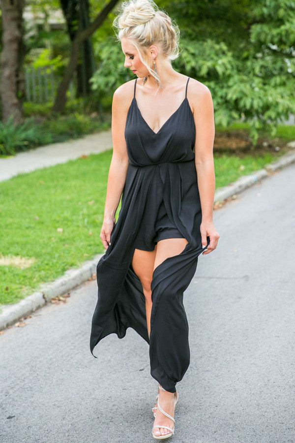 Showstopper Maxi In Black