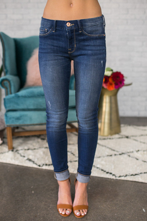 Throwback Mid Rise Skinny Jean