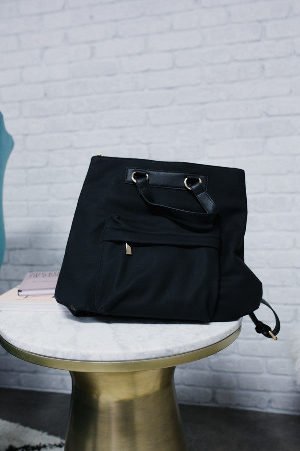 Fashion Fix Backpack in Black