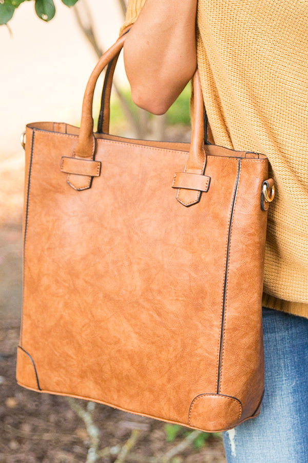 Fashion Week's Finest Tote in Brown