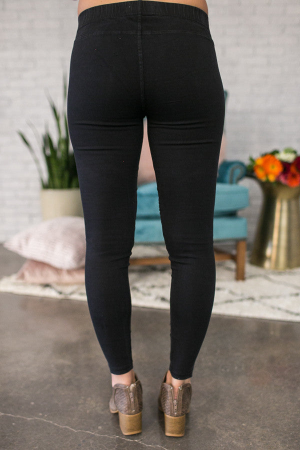 The Tallulah Legging in Black