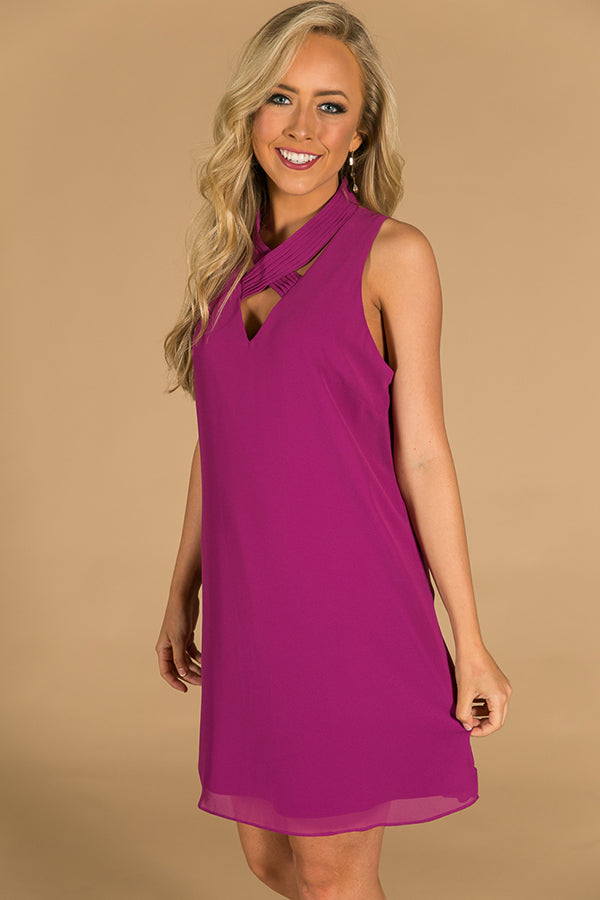 Loving You More Dress in Orchid