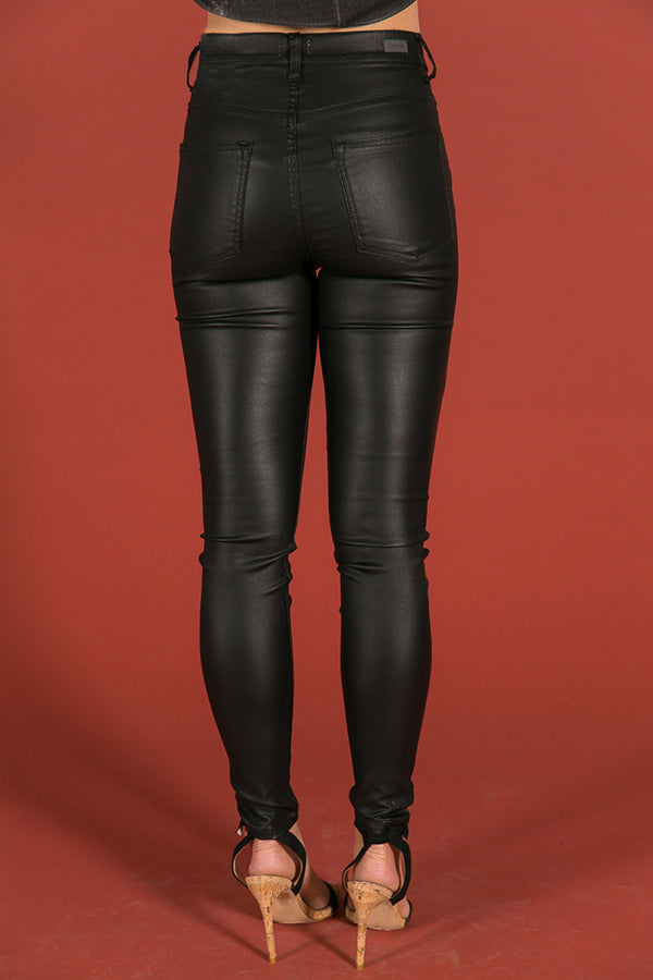 Major Moment Faux Leather Skinnies