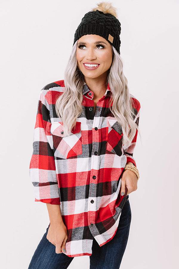 Cozy For Days Unisex Flannel in Fireside