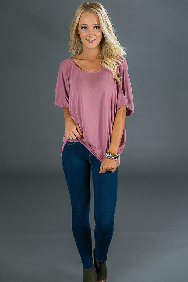 d46e0df88c57d8 Casual Sweetheart Cold Shoulder Top In Blush • Impressions Online ...