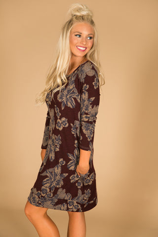 Southern Sangria Sweater Dress