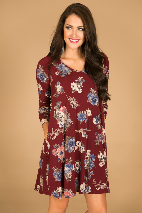 Date Night Divine Shift Dress
