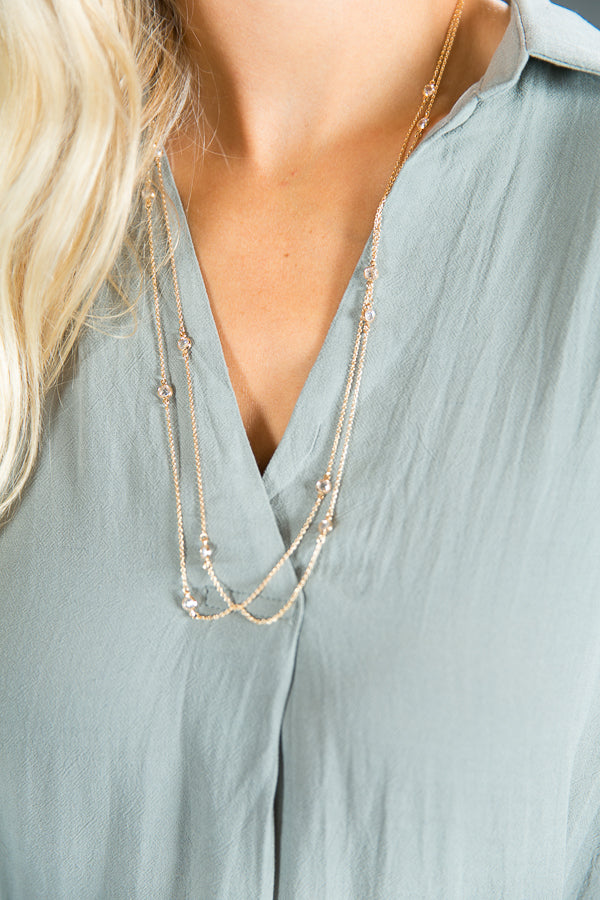 Flirting With You Layering Necklace