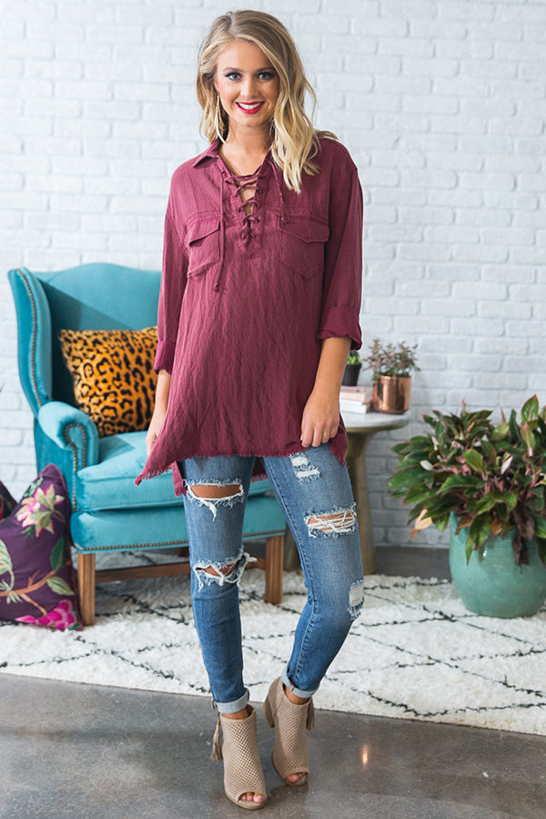 Southern Autumn Shift Tunic