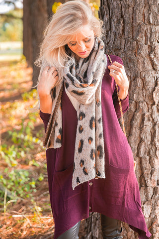 Cheetah So Cuddly Scarf