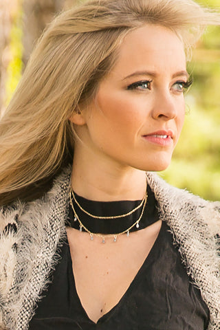 Under The Stars Layered Choker