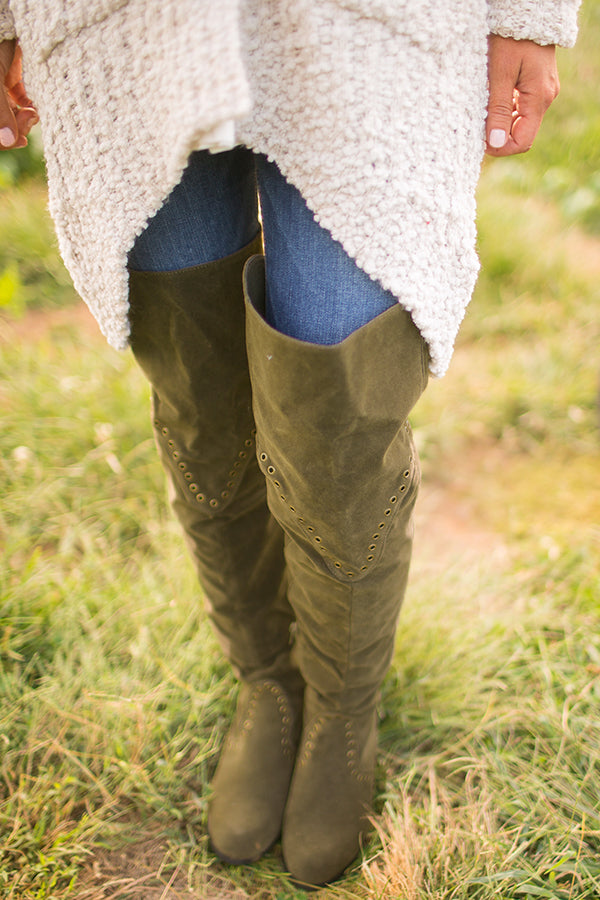 Sonoma Thigh High Boot