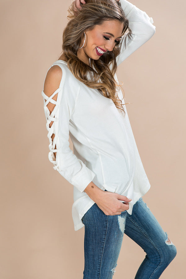 Peace Of Mind Sweater in Ivory