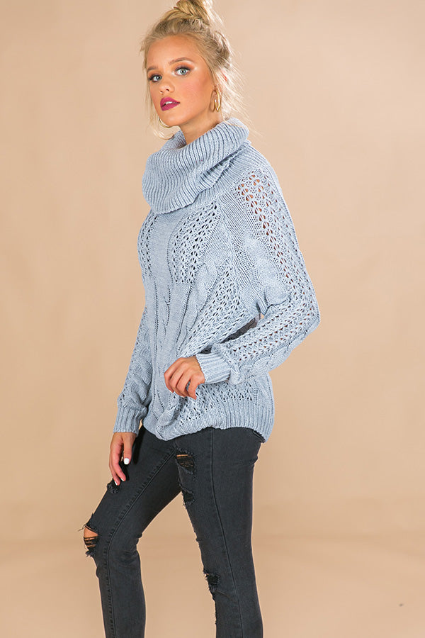 Bonfire Beauty Sweater in Grey