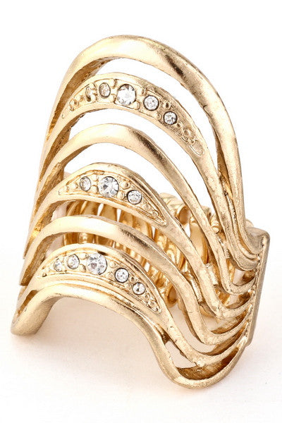 Golden Girl Ring